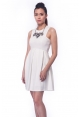 Cicely Dress in White