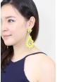 Jezny Earrings in Yellow