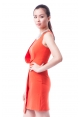 Charmayne Dress In Vermillion