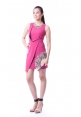 Charmayne Dress In Fuchsia