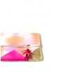 Tie Dye Clutch in Sunset