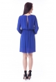 Trixie Dress in Cobalt