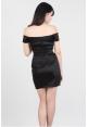 Off Shoulder Dress in Black