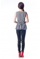 Grace Houndstooth Top