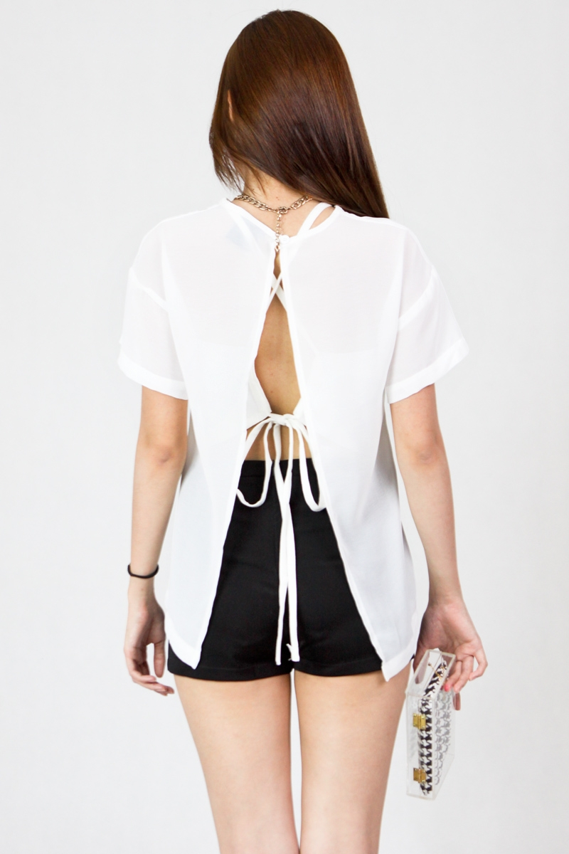 Caia Blouse in White