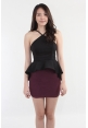 Waterfall Peplum Top