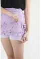 Spring Lace Midi in Lilac