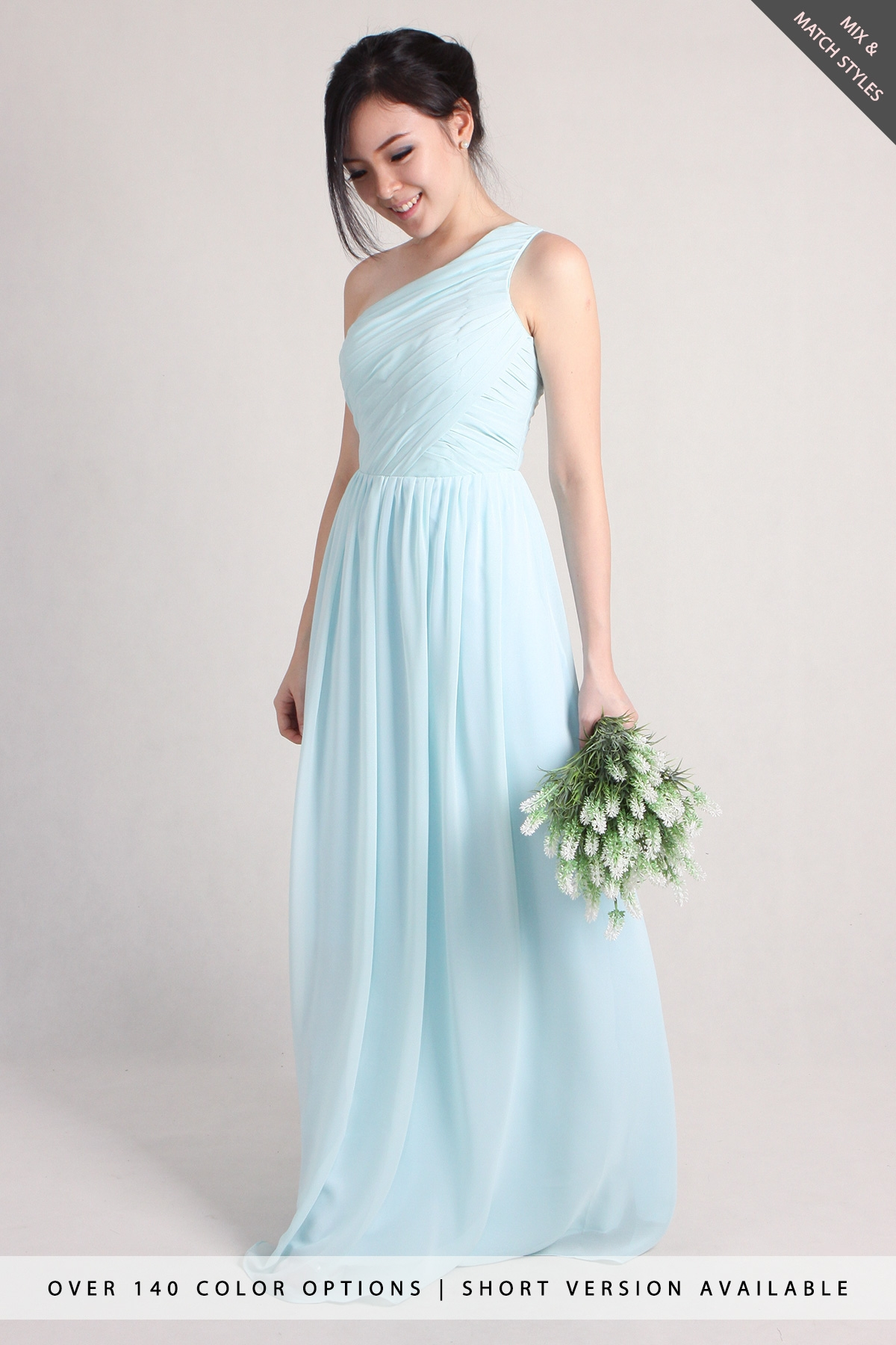 Blair Toga Chiffon Dress - PS Curate
