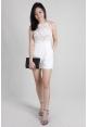 Tulla Lace Romper in White