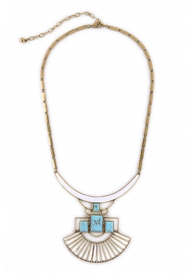 2-way Tribal Statement Necklace