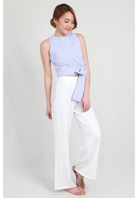 Palazzo Pants in White
