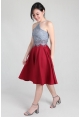 Flare Skirt in Red
