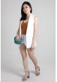 Basic Sleeveless Vest in White