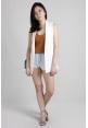 Basic Sleeveless Vest in White
