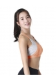 Cross Bee Bra in Apricot (Preorder)