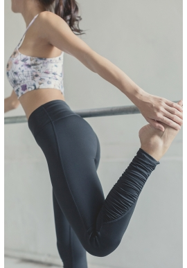 Ripple Leggings in Black (Preorder)