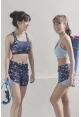Ripple Shorts in Confetti (Preorder)