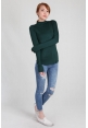 Basic Cosy Long Sleeve Top in Jade