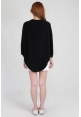 Basic Knit Shrug in Black
