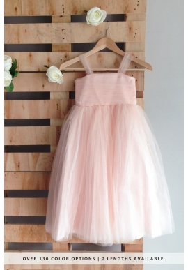 Tulle Flower Girl Dress