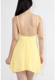 Cross Back Flare Dress