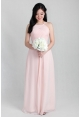 Aria Halter Chiffon Dress