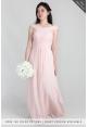 Mia Criss-Cross Chiffon Dress