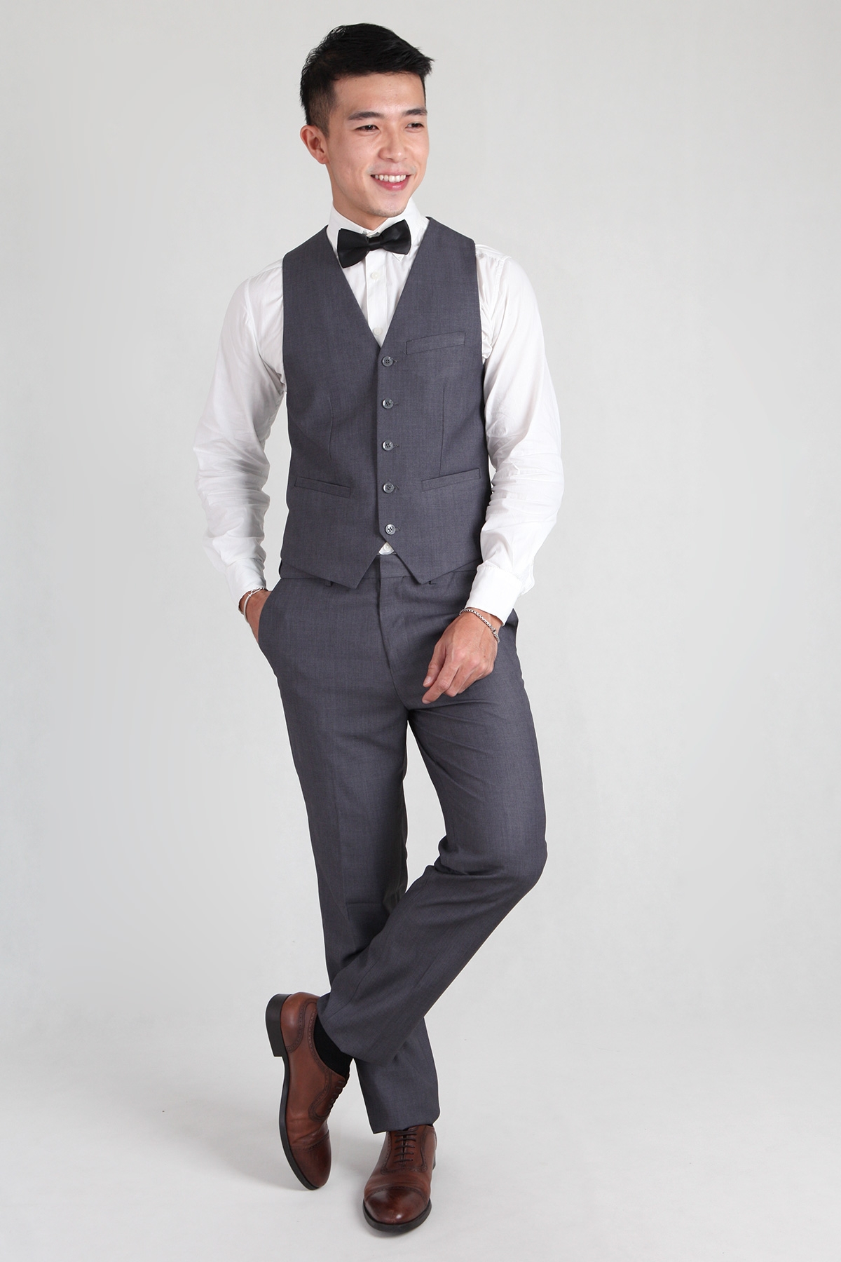 Groomsmen Vest in Grey