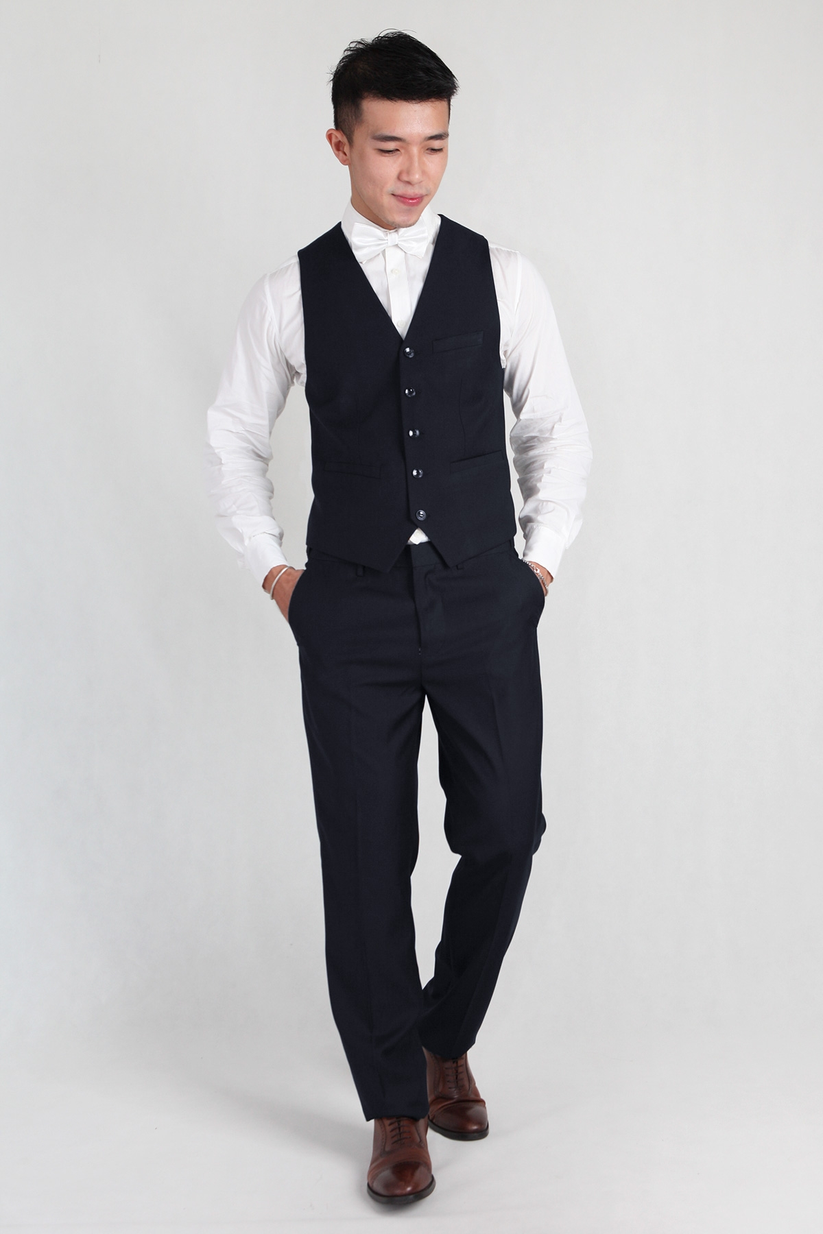 Groomsmen Vest in Navy