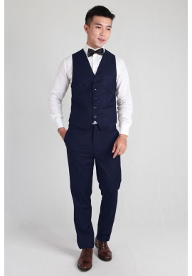 Groomsmen Vest in Blue