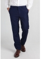 Mens Slim Fit Trousers in Blue