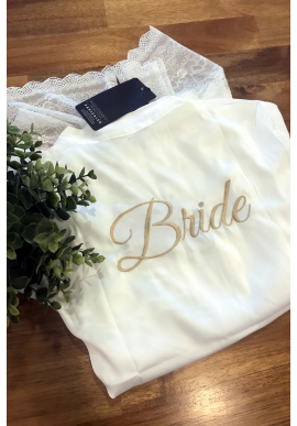 Custom Embroidery (Bridal Robes)
