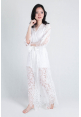 Luna Lace Bridal Robe