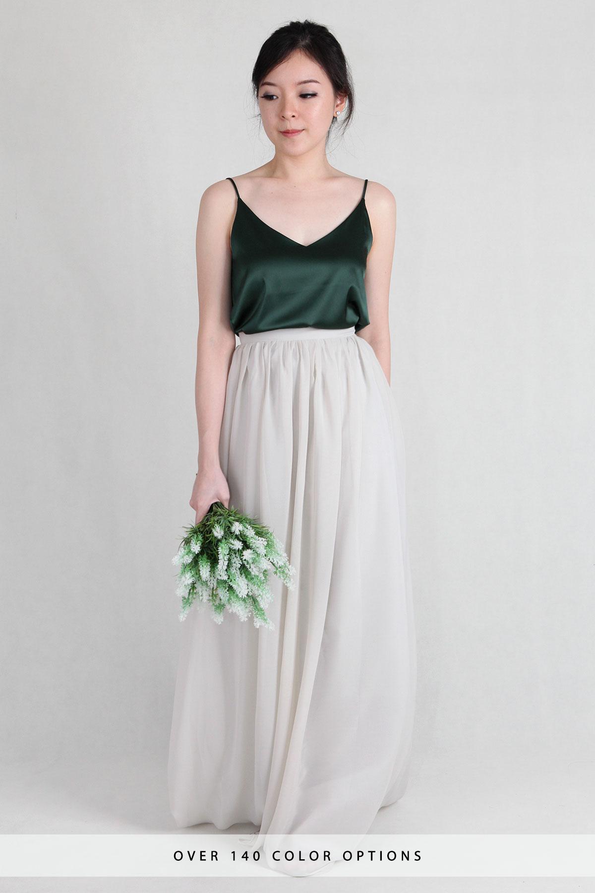 Kayla Maxi Chiffon Skirt