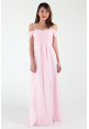 Pippa Cold Shoulder Chiffon Dress