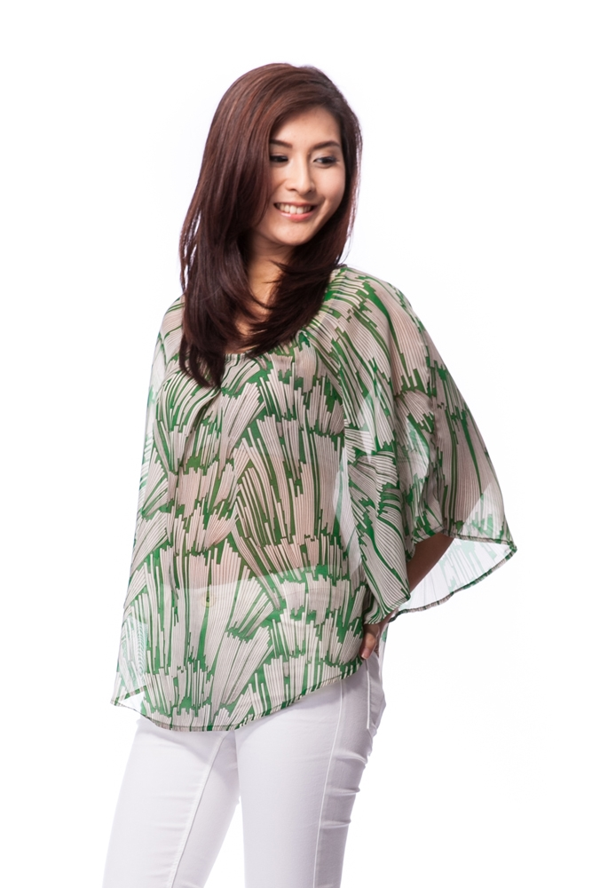 Reiha Kaftan Top