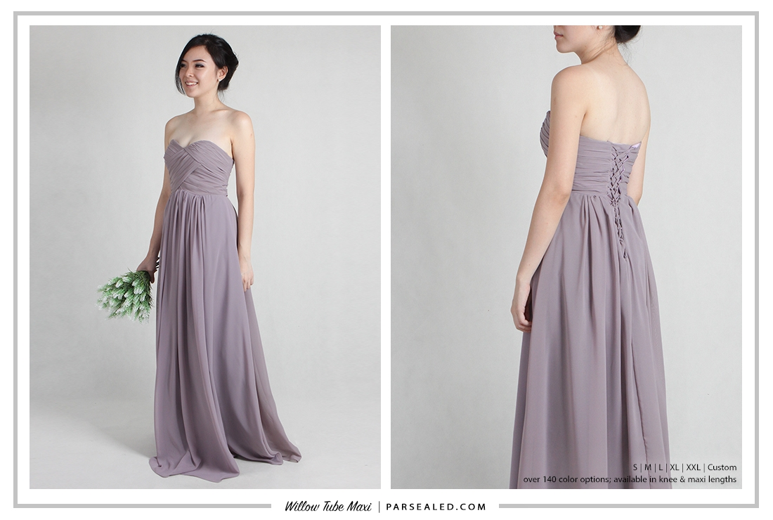 Shop PARSEALED's range of bridesmaids dresses in more than 140 color options and 5 sizes